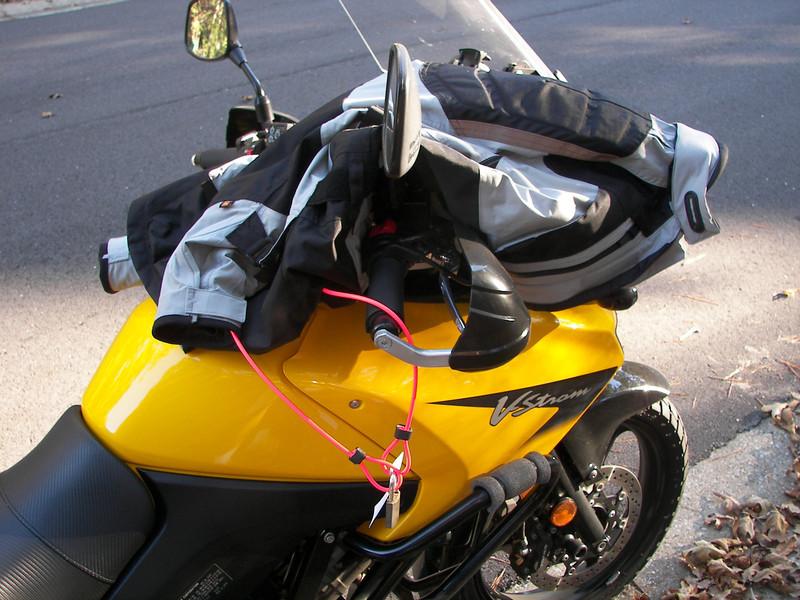 Moto-Kafe Helmet Jacket Caddy
